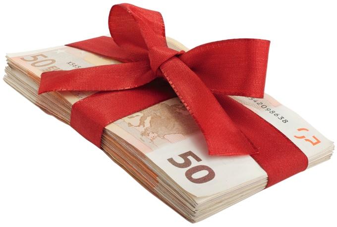 Geschenk 35 euro brutto