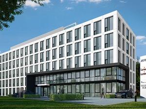 Projekt: Richtfest für Bürogebäude A-ERO in Düsseldorf