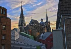 Aachen mit Dom