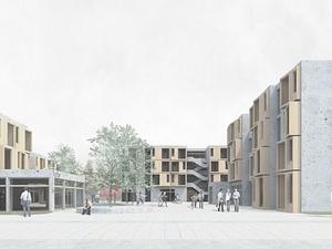 Studentendorf mit 380 Plätzen entsteht in Adlershof in Berlin