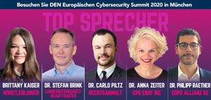 Die Cybersecurity-Veranstaltung für Compliance-Profis