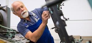 Altersvollrentner im kurzfristigen Minijob