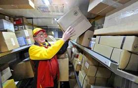 DHL Paketdienst Hochdorf , Rudolf Braun Weihnachtspakate Pakete Post