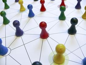 Netzwerk Spielfiguren