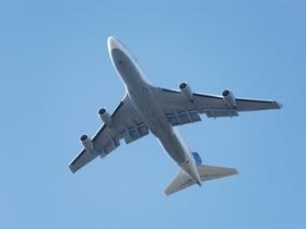 Airbus A380 im Flug