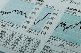 Aktienkurse in Zeitung
