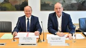 Alexander König (l.) und Thomas Mütze GBW-Untersuchungsausschuss