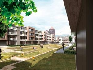 Wohnen Stadtmauer Warnow: Rostocker Neubauvorhaben Petriviertel
