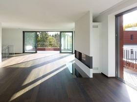 Ansicht Zimmer Holzbau