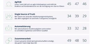 Arbeit 4.1.: Teamarbeit in Deutschland nicht effizient