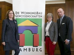 Hamburg: Wohnungsbaugenossenschaften investieren halbe Milliarde