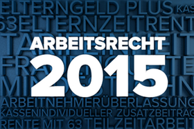 Arbeitsrecht 2015