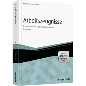Arbeitszeugnisse 8. Auflage 330