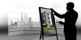 Architekt Bauhaus Panorama Stadt