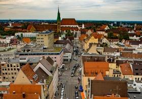 Augsburg Altstadt Innenstadt