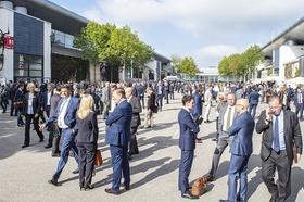 Außengelände Expo Real - Messe München