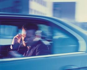 Auto, Seitenfenster, Dienstwagen