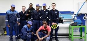 Wie Flüchtlinge als Praktikanten in den Beruf starten