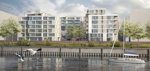 Genossenschaften bauen geförderte Wohnungen in Hafencity