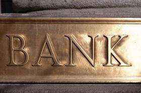 Bank Schild