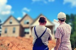 Baugrundstück Hausbau Bauherren