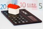 Bauklotz Haus Taschenrechner Euro