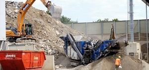 Recycling: Baustoffe aus dem Materialkreislauf