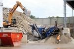 Bauschuttaufbereitungsanlage