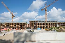 Baustelle, Wohnungsbau