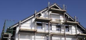 Destatis: Baugenehmigungen steigen um rund 31 Prozent