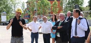 Axel Gedaschko besuchte Referenzobjekt bei WBG Südharz