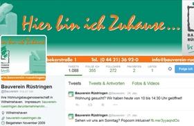 Bauverein Rüstringen Screenshot