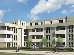Bauverein errichtet 41 geförderte Wohnungen in Darmstadt