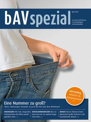 bAV Spezial April 2013 | Personalmagazin
