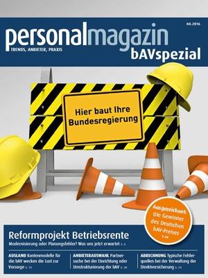 Sonderveröffentlichung bAV Spezial April 2016