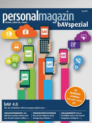 Personalmagazin bAV Spezial April 2017
