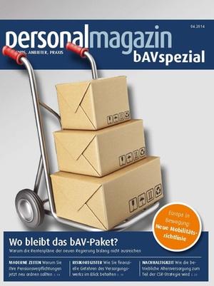 bAV Spezial April 2014 | Personalmagazin