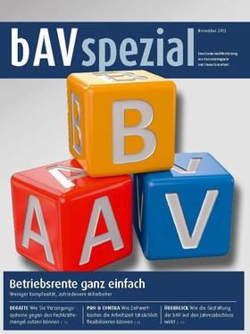 bAV Spezial Oktober 2013