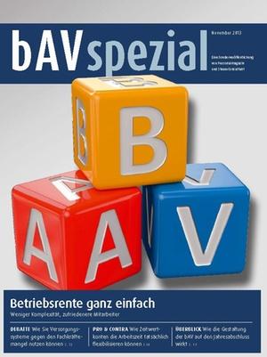 bAV Spezial November 2013 | Personalmagazin