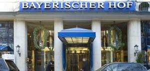 Tagungshotels: Bayerischer Hof in München als Filmkulisse