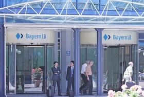 BayernLB Zentrale Eingang