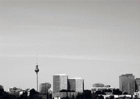 Berlin, Skyline mit Fernsehturm