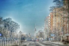 Berlin Straßenflucht auf Alex