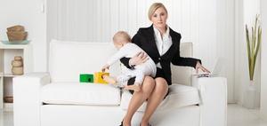 Kind und Karriere: Immer noch klassisches Rollendenken