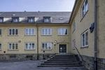Bestandsgebäude in der Oxford-Kaserne in Münster