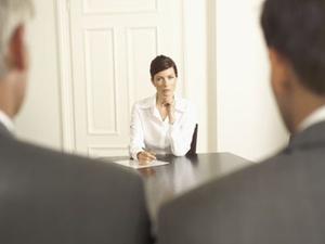 Persönliche Interaktion mit dem Bewerber