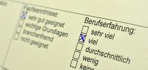 Test für Personaldiagnostik auswählen