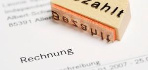 Anforderungen: Rechnungen erstellen in Sonderfällen