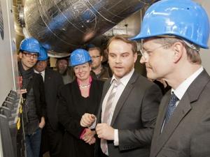 Blockheizkraftwerk versorgt Unesco-Siedlung