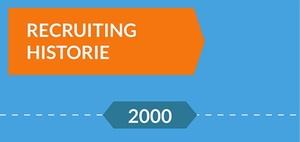 Recruiting: Infografik zur Geschichte des Recruiting seit 2000